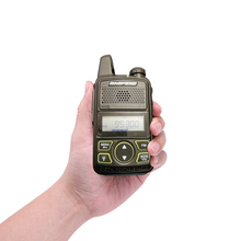 Alta qualidade two-way radio Baofeng mini tamanho <span class=keywords><strong>2</strong></span> W BF-T1 walkie-talkie two-way radio restaurante hotel