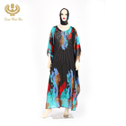 Free Sample Factory Direct Sales Dubai Girls Muslim Dress Kaftan