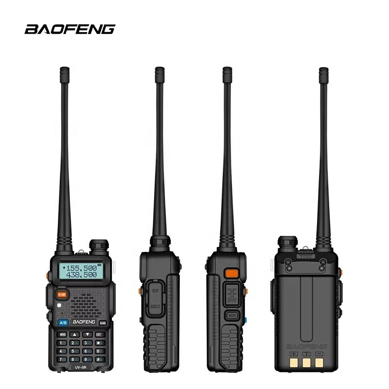 CE FCC BaoFeng UV5R vhf/uhf bidirectionnelle radio Jambon Radio Pas Cher Talkie-walkie portable chinois