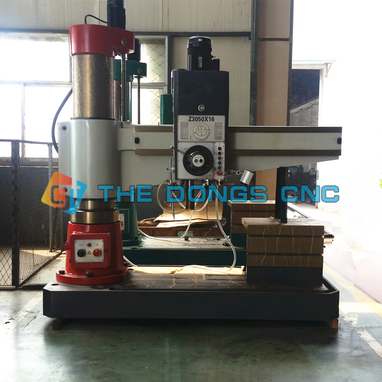 Made in China Z3050 manual for radial drilling machine price