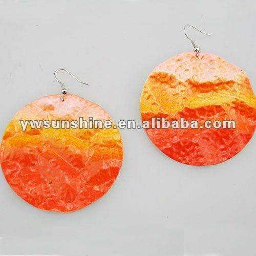 Wholesale irregular jewelry castings lac earring
