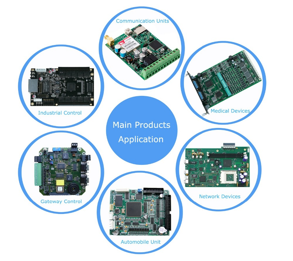 Shenzhen Best Manufacturer Odm Service Fr4 94vo Rohs Pcb Printed Smt Assembly Oem Circuit Board Manufacturing Double Sided Multi Layer Boards