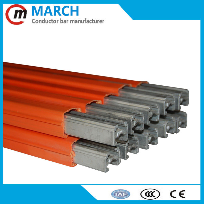 Exported overhead safe insulated shrouded DSL conductor bar