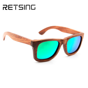 Wood timber christmas gift sunglasses