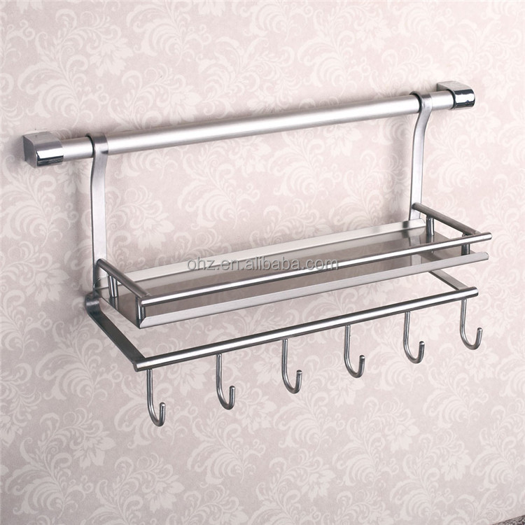 Wall Mounted Stainless Steel Kitchen Utensil Holder - Buy Kitchen Utensil  Holder,Stainless Steel Plate Holder,Stainless Steel Wall Spice Rack Product  ...