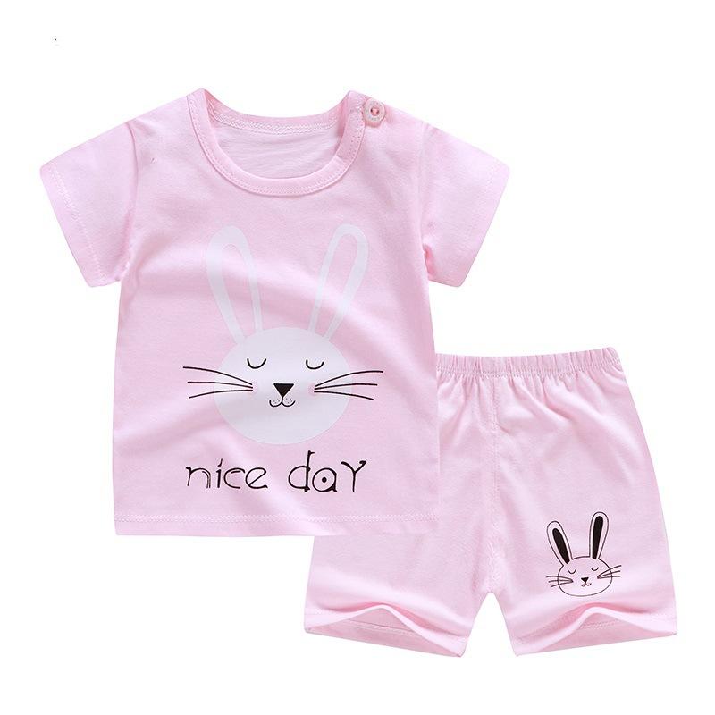 安いベビー子供セットブティック綿セット中国工場卸売子供の夏の服