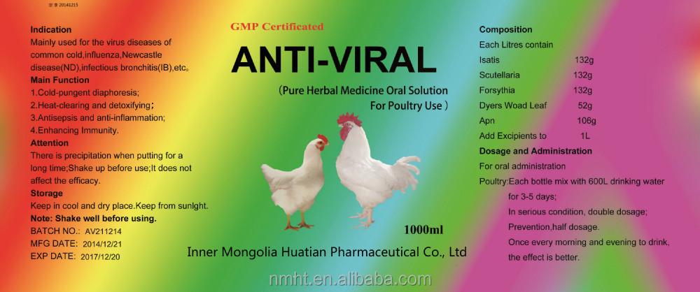 Antiviral Oral Solution Herbal Medicine Antivirus Products
