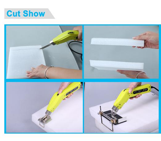 Mini industrial electric plastic foam cutter hot knife