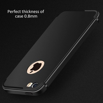 DFIFAN For iphone 5s se case tpu,2017 New Hot Sale Matte Black Phone Case for Apple iPhones 5