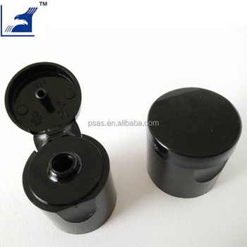 Black 20/410 Plastic Flip Top Cap for oil Bottle