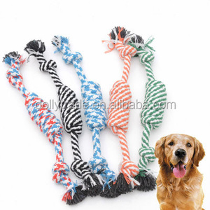 Pet Toys for Dog Funny Chew Knot Cotton Bone Rope Puppy Dog Toy