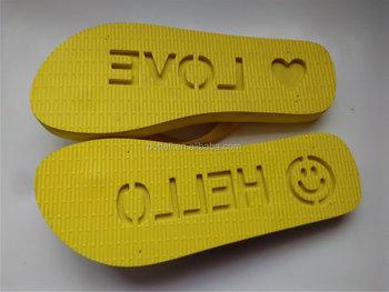 ba00694513cc Popular die cut flip flops sand imprint beach walker flip flops emotion  design