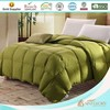 colorful home use down bedding with goose down duvet inner