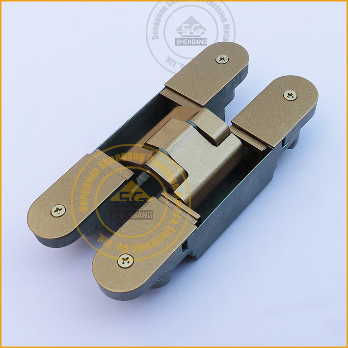 80kg die casting hinge heavy duty concealed door hinges for Concealed door hinges