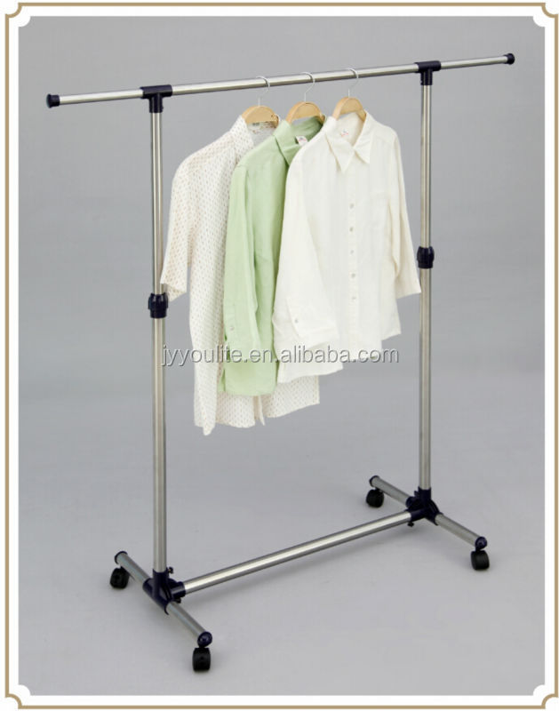 Stainless Steel Outdoor Wrought Iron Clothes Rack Hanging