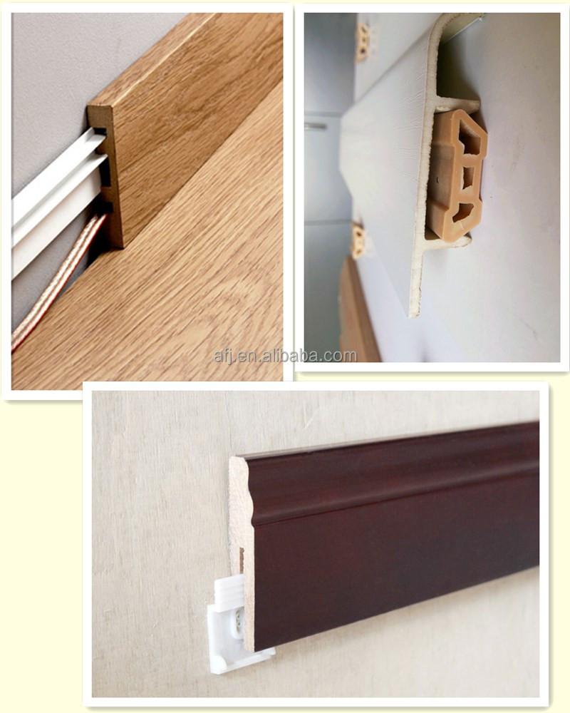 Easy installation wood plinth skirting board buy plinth for Wood skirting