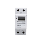 AHC17A-24VHz practical voltage 24 hours timer, mechanical electrical wall timer switch