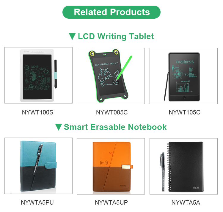 Newyes Wholesale Magnetic Digital Notepad 12 Inch Kids Lcd Writing Drawing Tablet