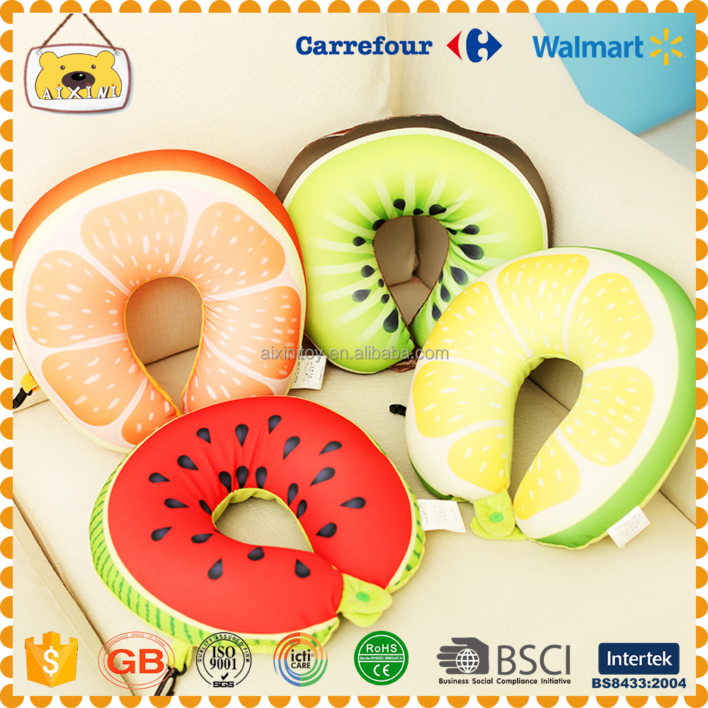 Fruit u neck pillow protector for travel