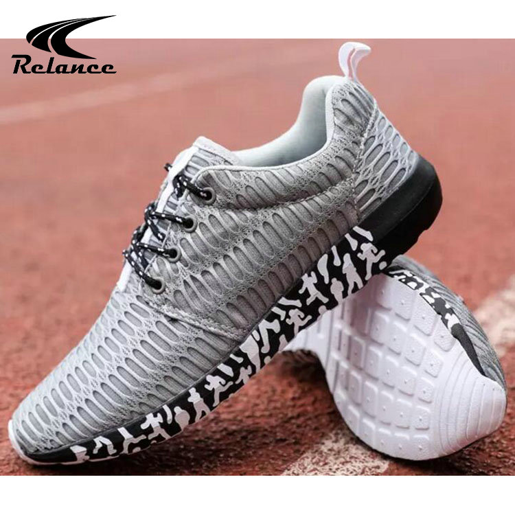 Sport Slip Mens Quality Anti Athletic Sneakers Shoes High Breathable Mesh Stylish Casual qxw1OAA0E