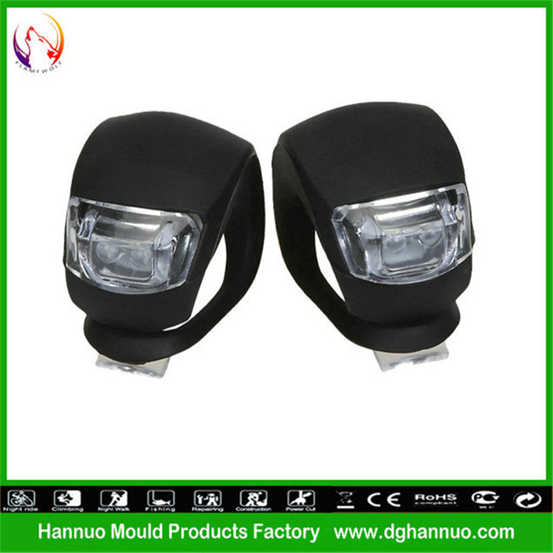 (OEM WELCOME)Good Quality with super bright luminous silicone rubber led bike light/scooter rear light