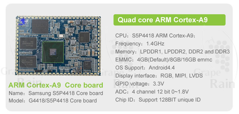 Android Board Open Source S5p4418 Digital Mic Module Led Pcb Board ...