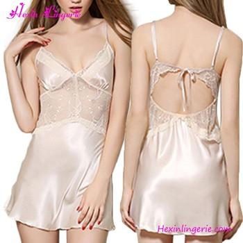 9cbb76c59078 Fashion New Style Women Hot Sleep Dress Sexy Nighty Dress Sleeping ...