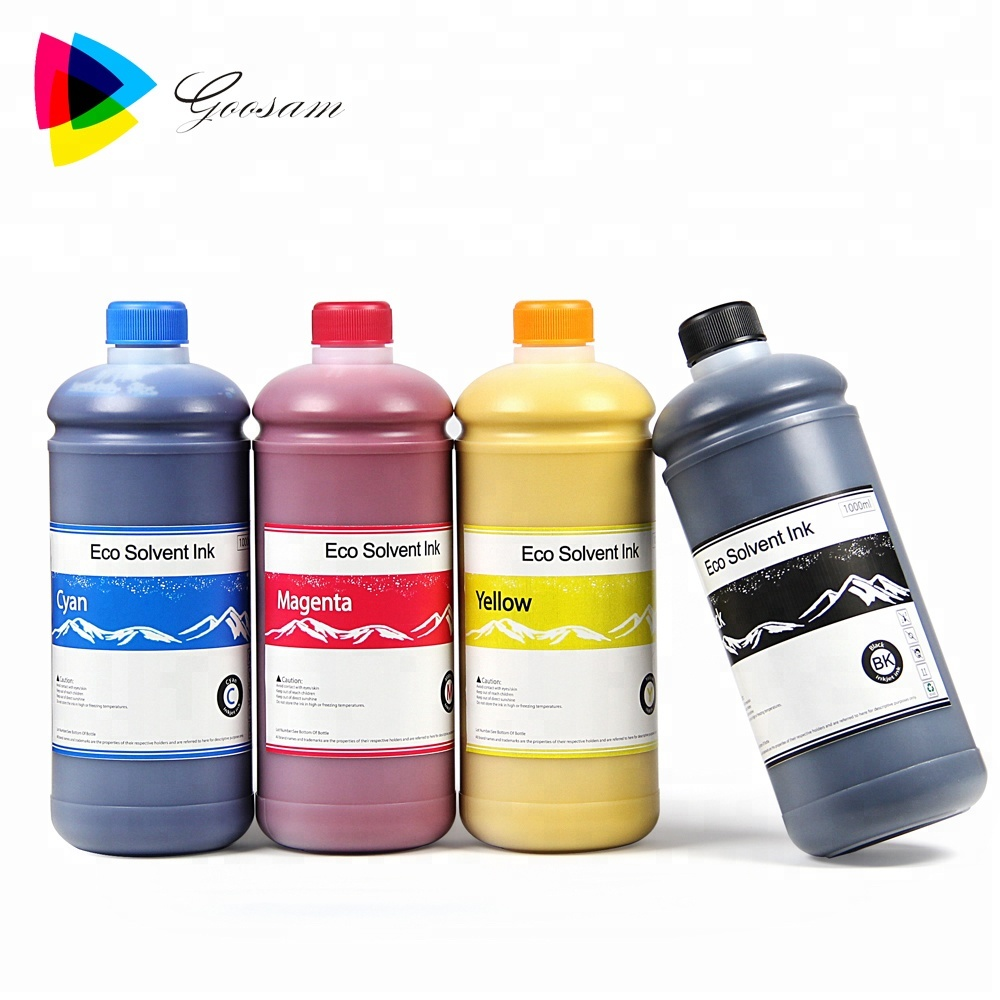 Superior durability Eco-solvent ink for OKI ColorPainter M-64S