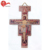 European religious wholesale jesus wood saint epoxy wall crucifix church hang cross