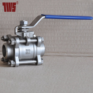 3PC Stainless Steel SS304 Ball Valve