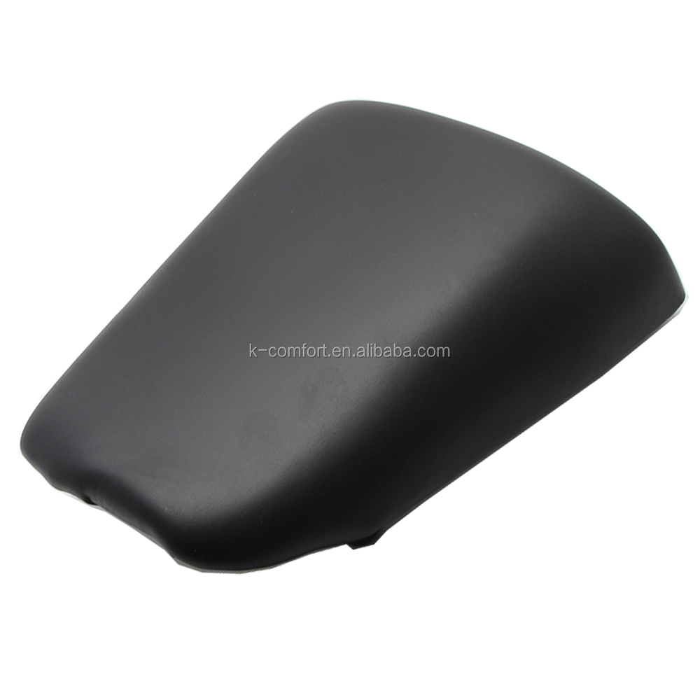KC17MS38 Motorcycle Seat Leather Passenger Rear Seat Pillon Cover for Suzuki SV650 2003-2010 SV1000
