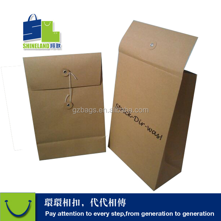 Printed perforated envelopes kraft raw material