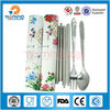 3 Pcs Silver portable tableware stainless steel chopsticks suit ,gift chopsticks set