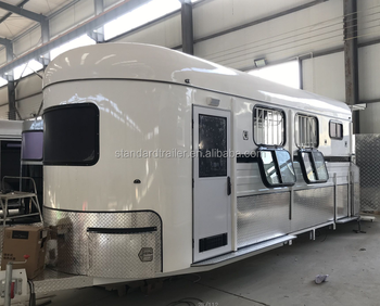 2 horse trailer angle float with shower room