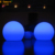 hot sale Color changing rechargeable battery operated led PE ball