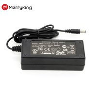 Merryking IEC 320 Connector Universal AC DC Adaptor 19V 2.0A Power Adapter