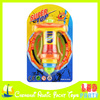 children plastic toy spinning top with flash light