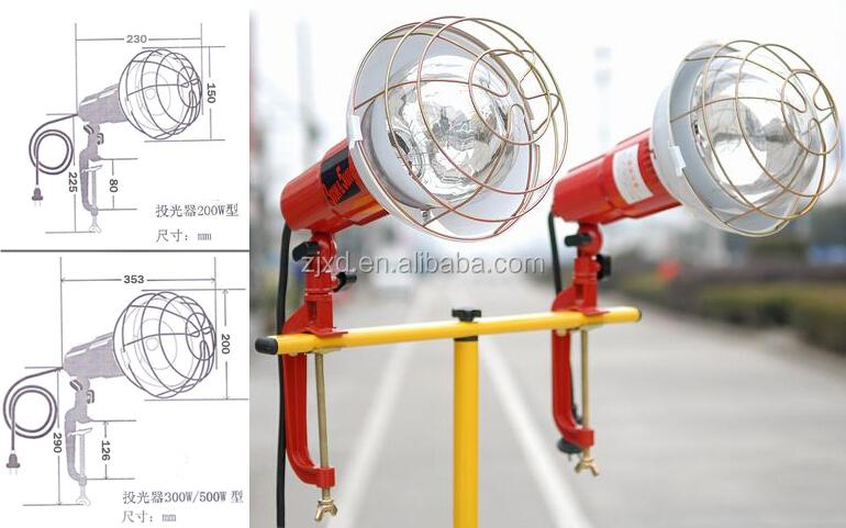 300w/500w Reflector Lighting Fixtures791802/791804