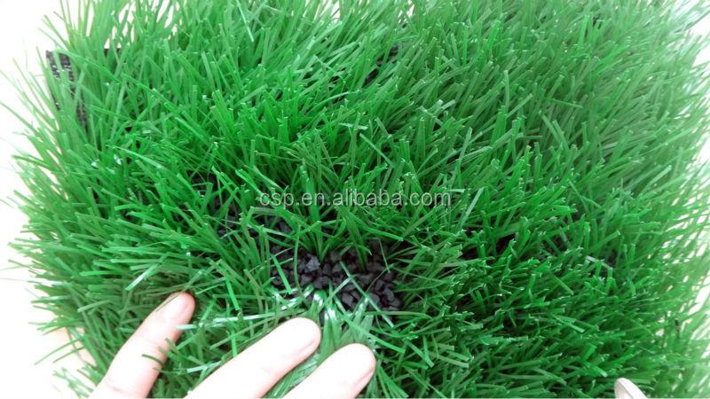 Gouden leverancier zachte kunstgras voetbalveld gras kunstgras te