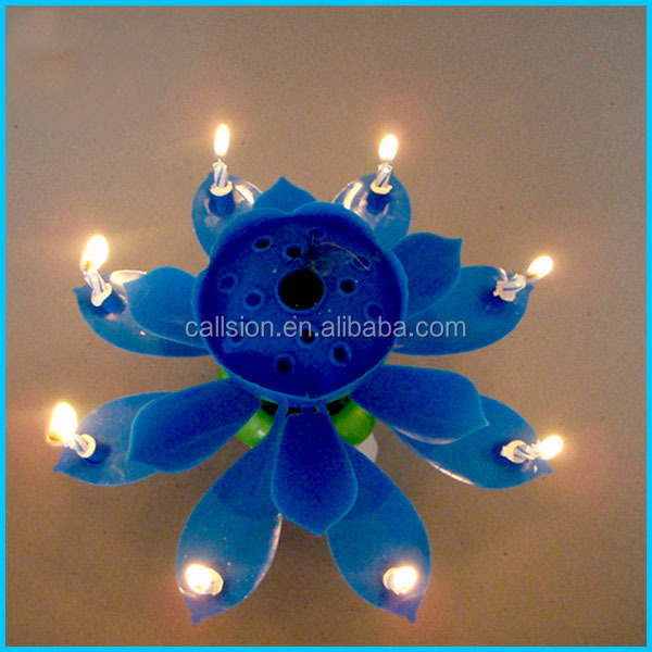 birthday cake flameless candle firework for birthday party