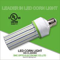SNC high quality IP40 Led corn lights 60w E40, led corn bulbs E39, Led high post bulb 60w with UL CE
