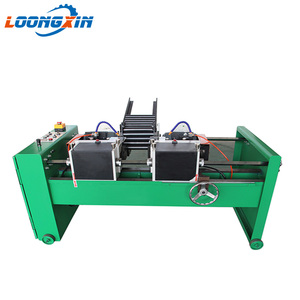 China threaded rod double end chamfering machine