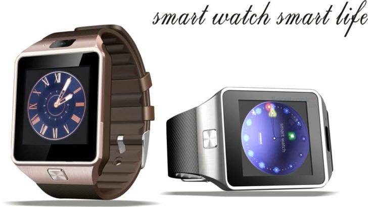 """2016 thông minh Xem DZ09 Waterproof 1,54 """"Touch Screen NFC Slim Thẻ DZ 09 thông minh Watch Phone"""