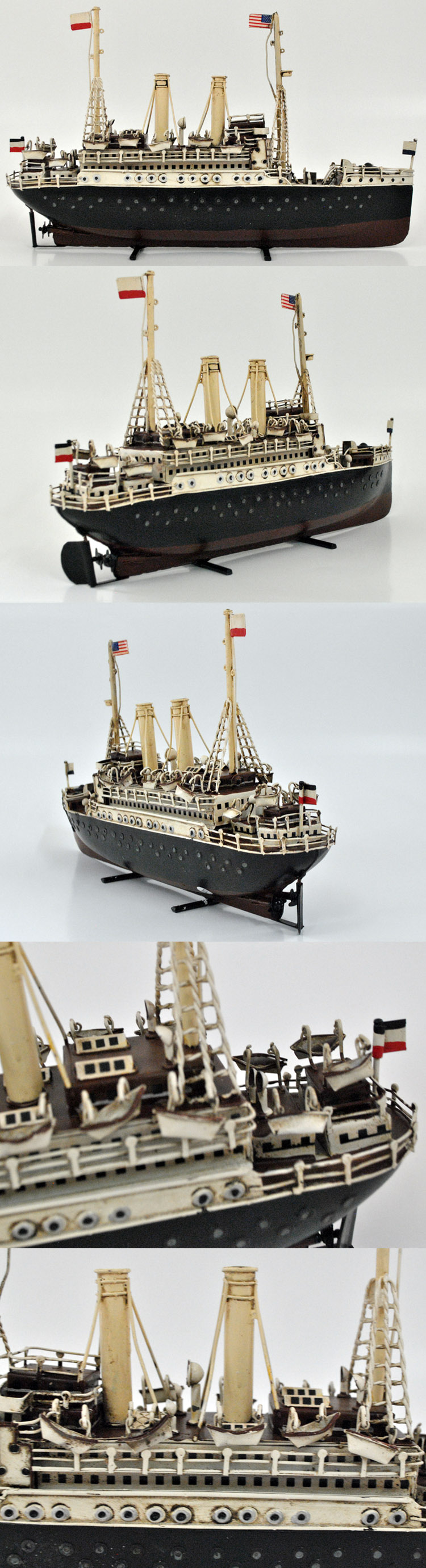 Classical Iron Ship Model For 60th Birthday Gift Ideas Home Decor Art Collections