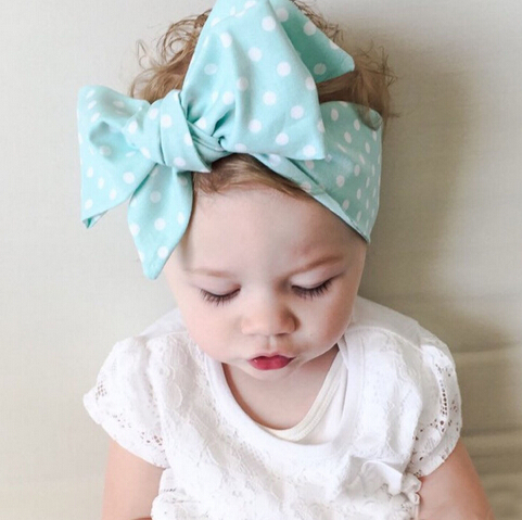 baby headband 2016 new children cute baby lace bow hair band