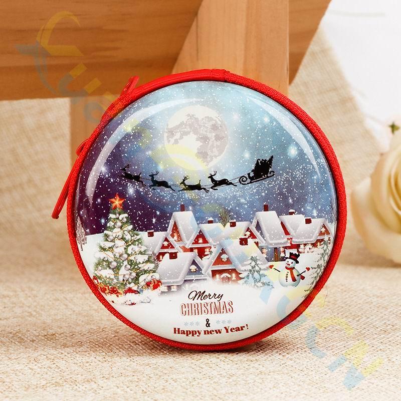 40 шт., рождественские украшения, детские игрушки, подарки на праздник, кошелек для монет, держатель для ключей, Рождественская елка, украшени...(Китай)