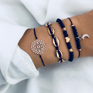 Fashion set gold shell bracelet for women wholesale N81285