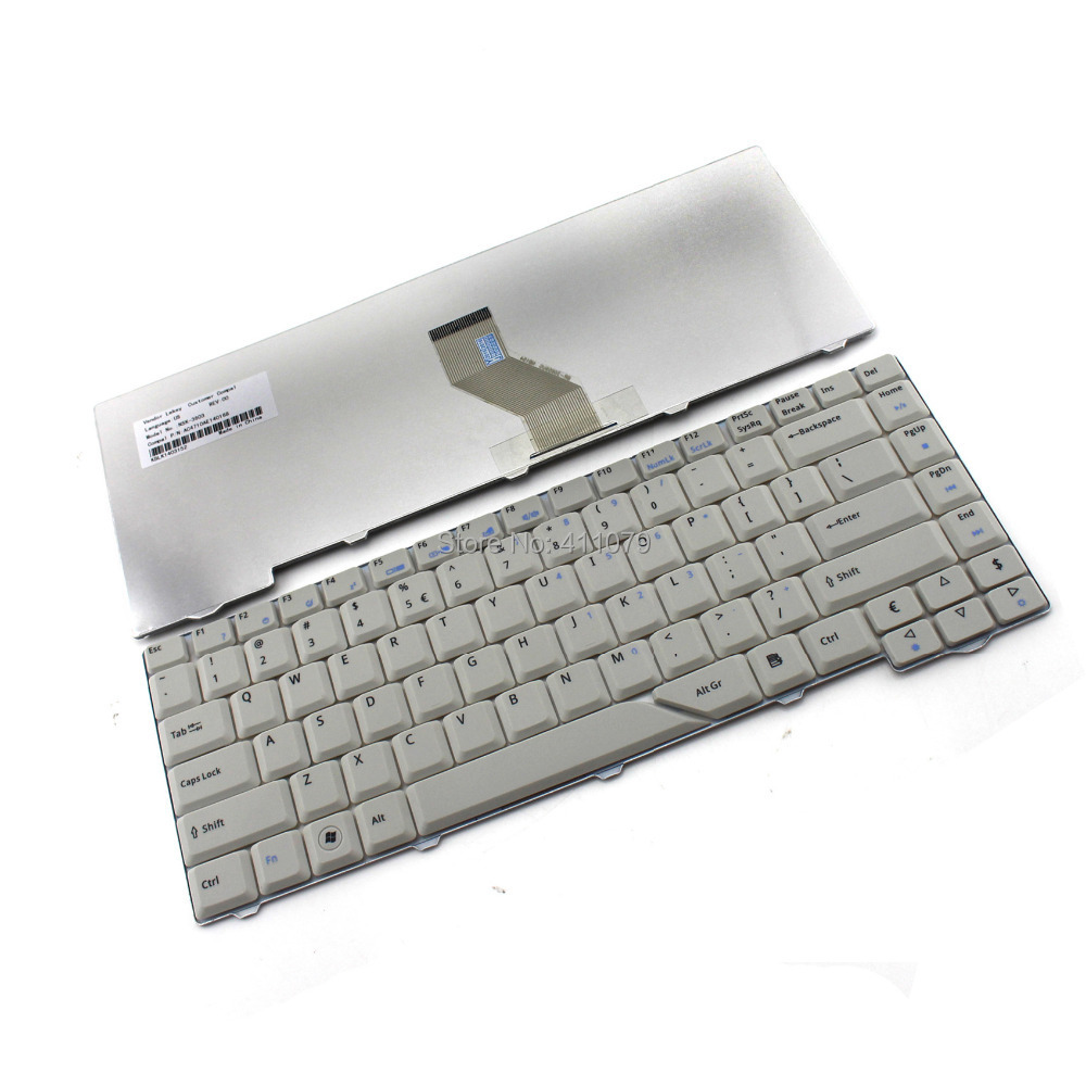 Get Quotations · New Laptop UK Keyboard for Acer Aspire AS4520 4520Z 4920Z  4520ZG 4920ZG Series Notebook Accessories Replacement