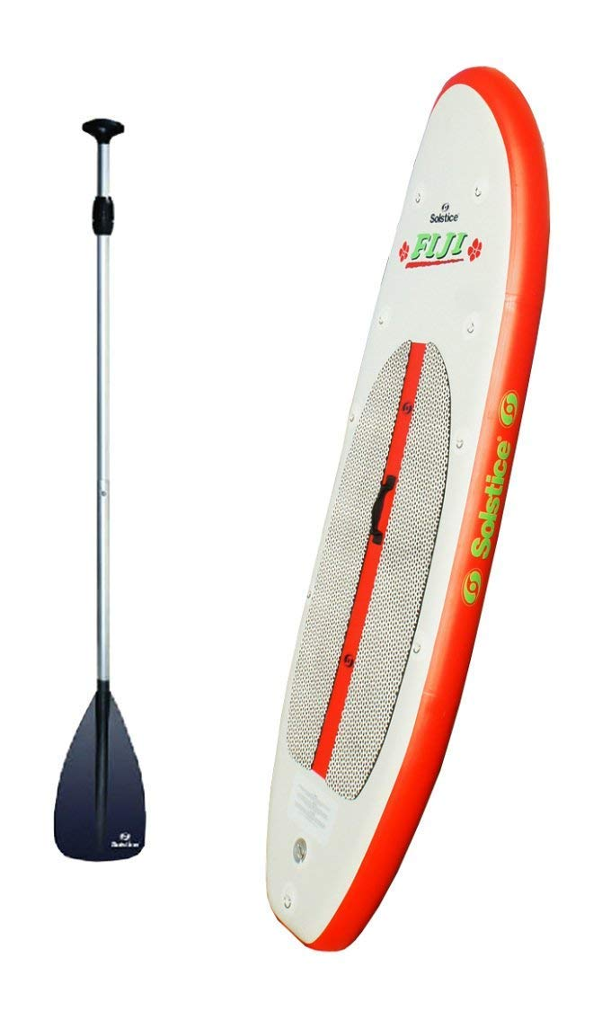 Solstice 35096 Inflatable Stand-Up Light Weight Paddleboard SUP Board w/Paddle