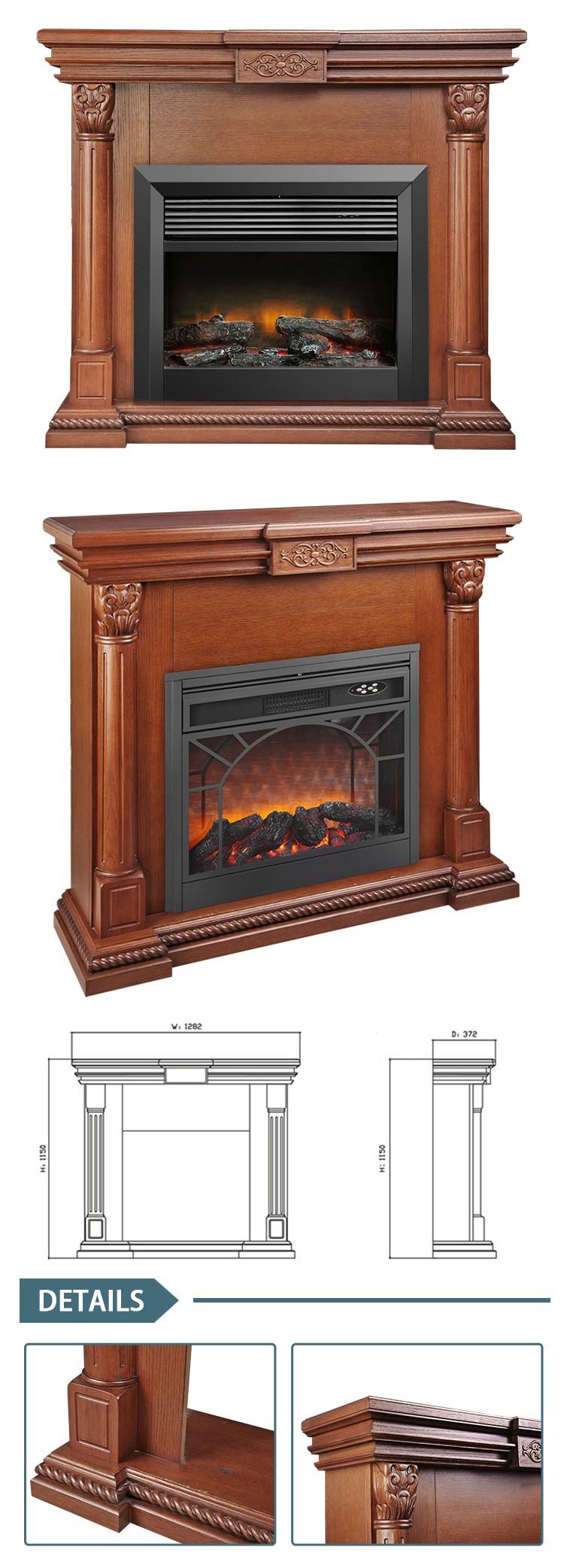 Attentive Service Factory Price Antique White Electric Fireplace Buy Antique White Electric